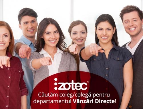 Căutăm coleg/colegă pentru departamentul Vânzări Directe!