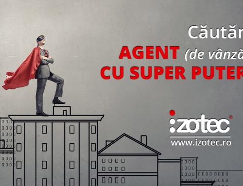 Cautam agent (de vanzari) cu superputeri :)