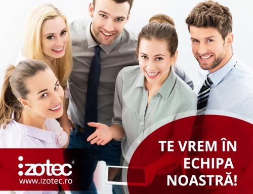 Ne dezvoltăm şi vrem parteneri noi în echipa de Vânzări – zona Bucureşti!