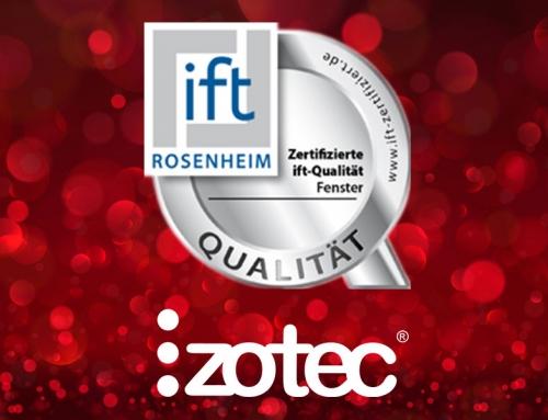 In premiera in Romania – Ferestrele Izotec au obtinut standardul superior de certificare – IFT Qualitat