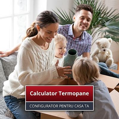 calculator termopane